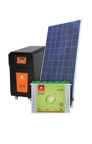 Havells 2KW Off grid Solar Power Plant