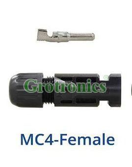 Female MC4 Solar Panel Connector