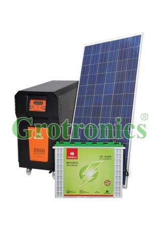 Havells 10KVA Off grid Solar Power Plant