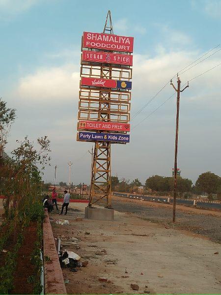 Advertising Hoarding Sign Board