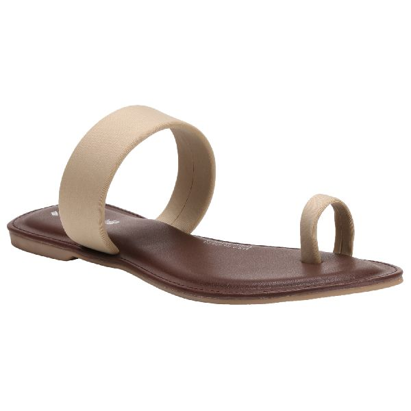 Beige Diana Ladies Fancy Slippers