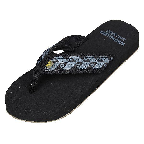Black Biostep Ladies Slippers