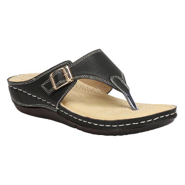 Black Cozy Ladies Fancy Slippers