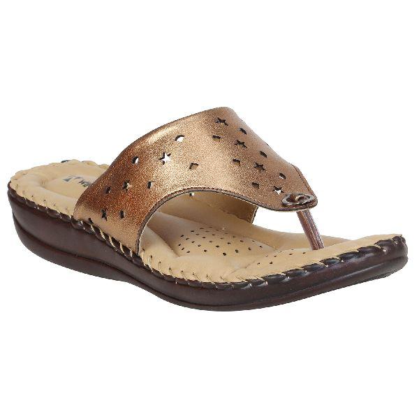 Bronze Sofie Ladies Fancy Slippers