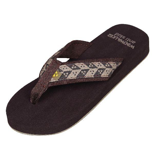 Brown Biostep Ladies Slippers