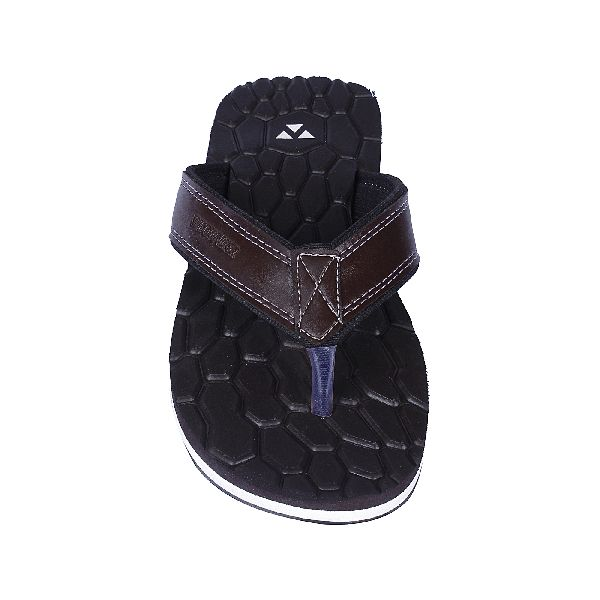 Brown Cancun Mens Slippers