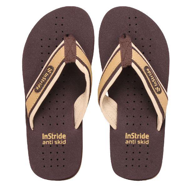 Brown Tonga Mens Slippers