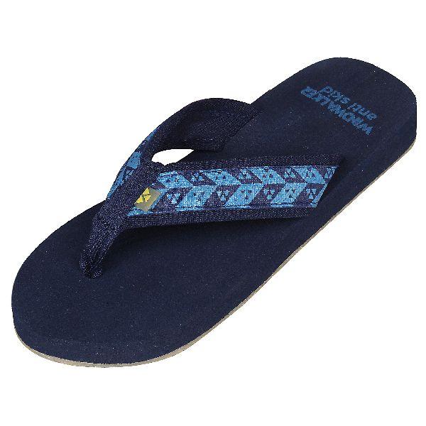 Navy Biostep Ladies Slippers