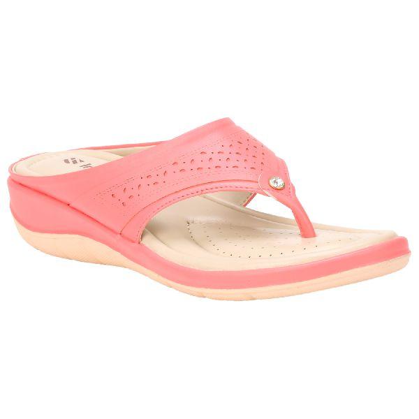 Pink Teresa Ladies Fancy Slippers