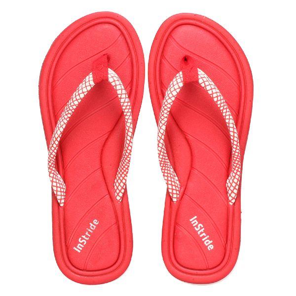 Red Coral Ladies Slippers