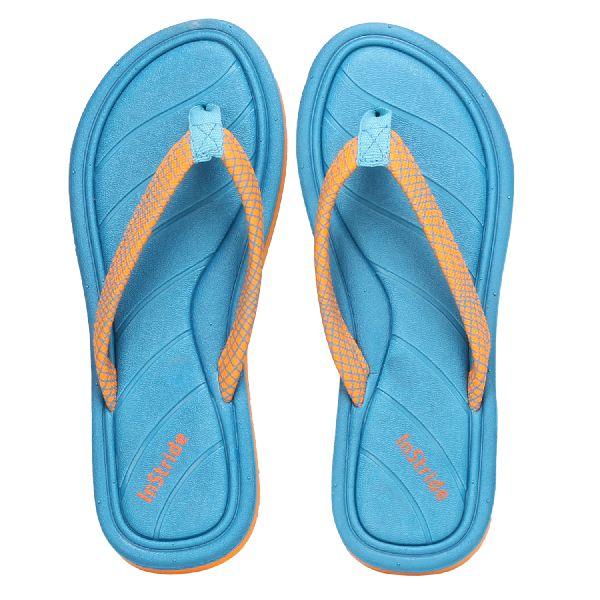 Royal Blue Coral Ladies Slippers
