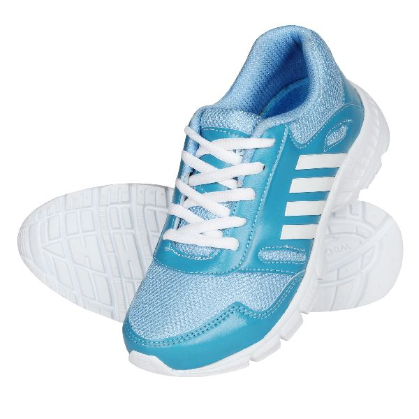 Sky Blue Brody Ladies Sports Shoes