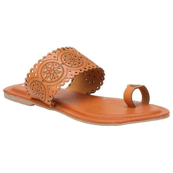 Tan Diana Ladies Fancy Slippers