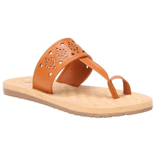 Tan Sierra Ladies Fancy Slippers