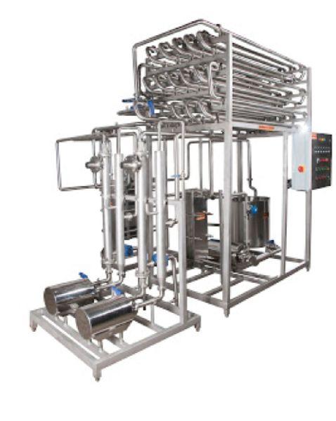 Curd Milk Pasteurizer Plant