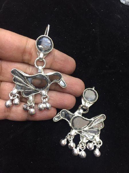 Afghani Silver Earrings