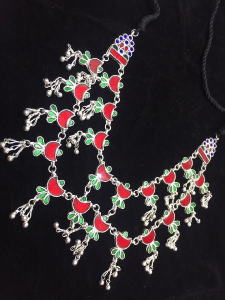 Afghani Silver Necklace