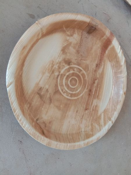 12 Inch Areca Leaf Round Plate