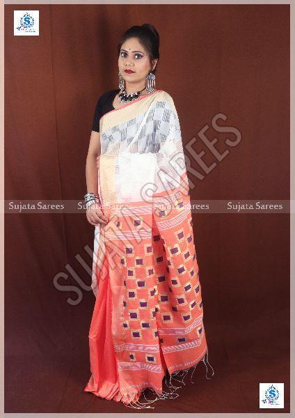 Daba Cot Cotton Silk Sarees