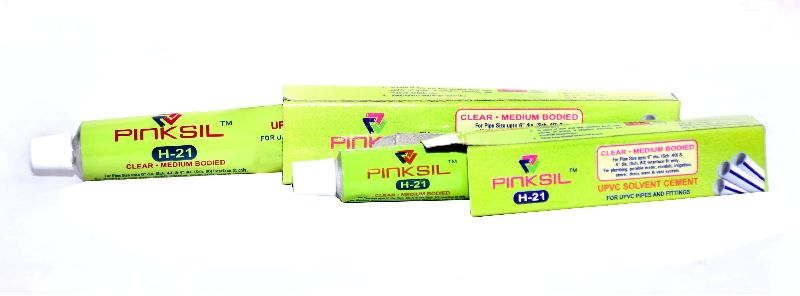 H-21 Pinksil UPVC Solvent Cement 10ML