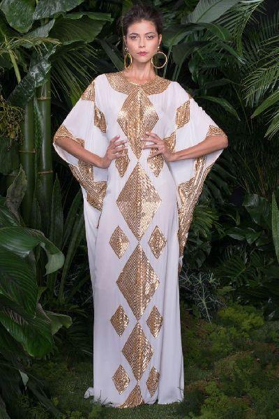 Designer Farasha Dress
