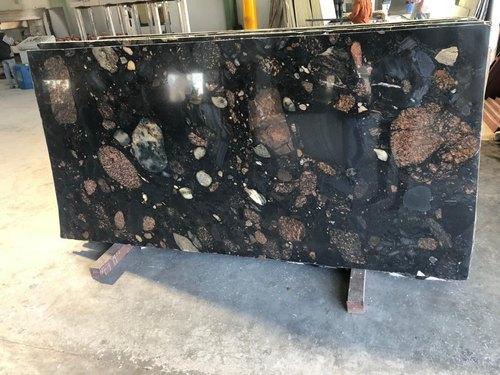 Magic Black Granite Slab