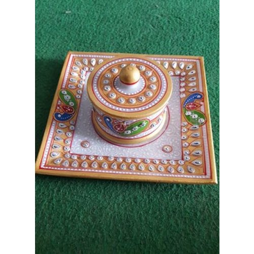 Marble Tray with Bowl