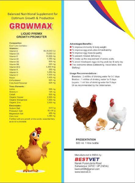 Growmax Animal Feed Supplement
