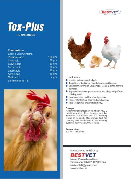 Tox Plus Animal Feed Supplement