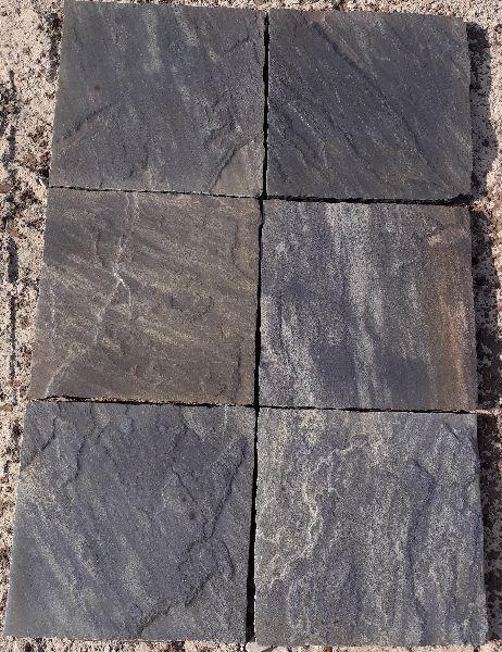 Black Sandstone Paving