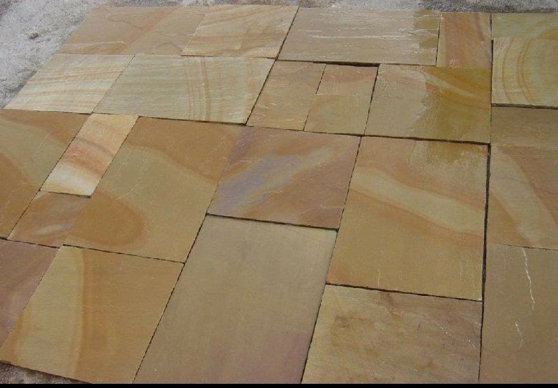 Camel Dust Sandstone Paving