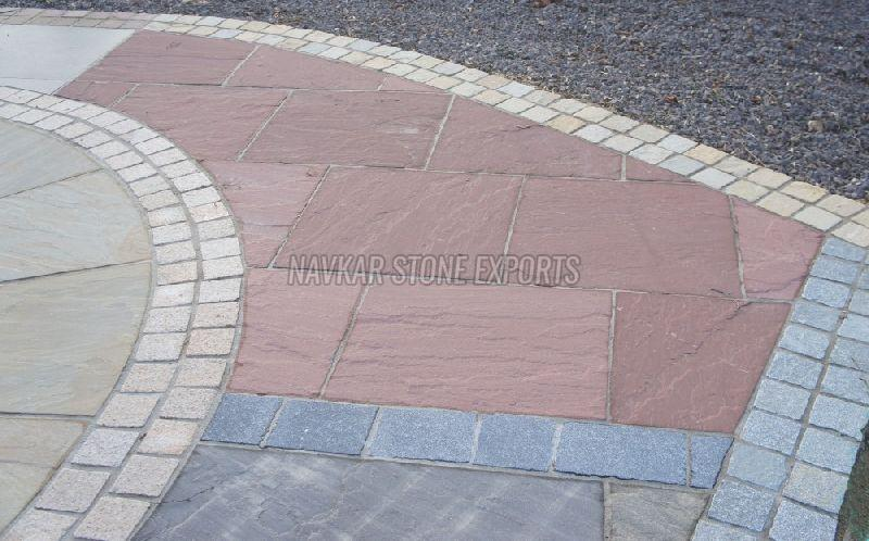 Chocolate Sandstone Paving