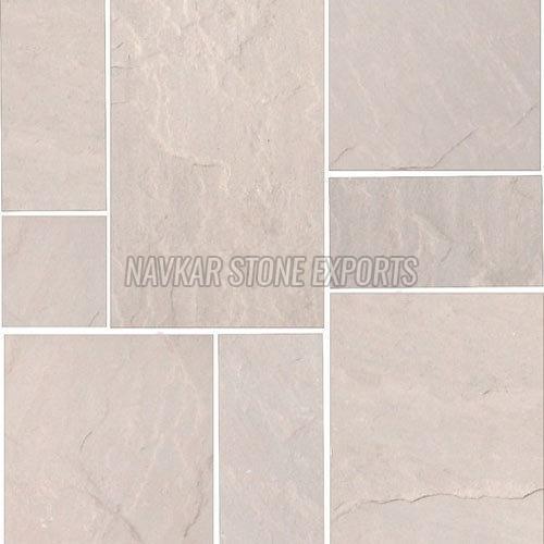 Dholpur Beige Sandstone Paving