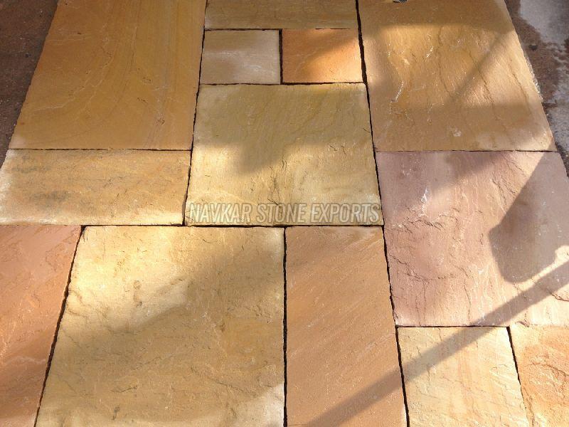 Lalitpur Yellow Sandstone Paving