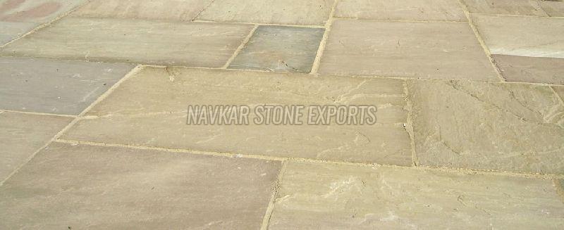 Raj Green Sandstone Paving