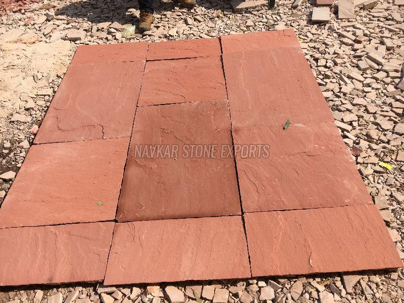 Agra Red Sandstone Paving