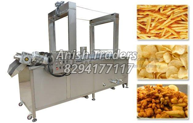 Automatic French Fries and Potato Chips Making Machine