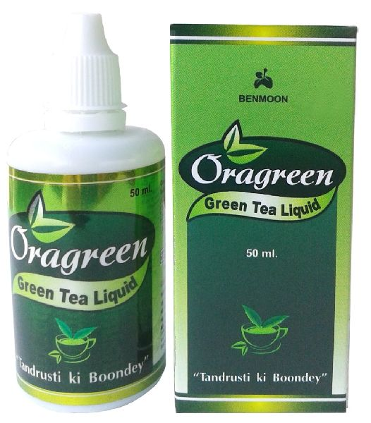 Oragreen Green Tea Liquid