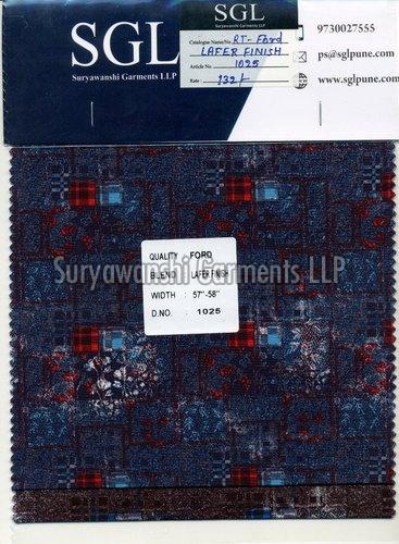 Loafer Finish Fabric