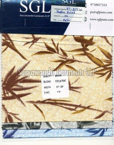 Poplin Print Fabric