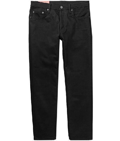 Mens Black Denim Jeans