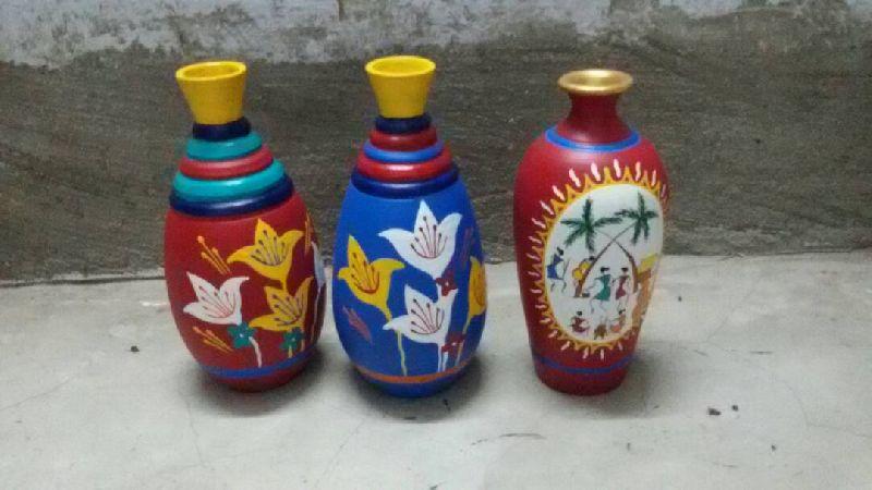 Terracotta Handcrafted Vase