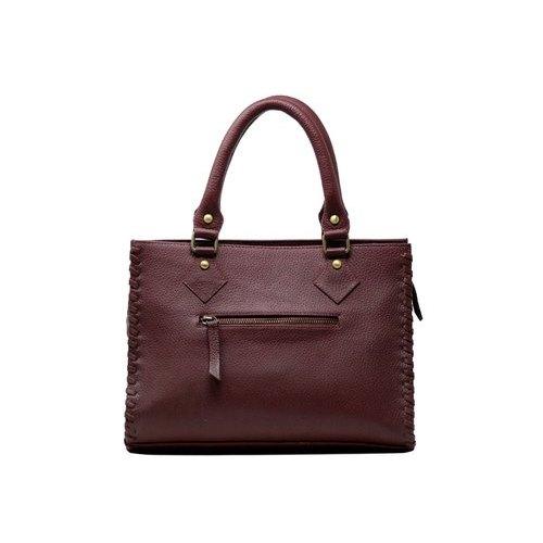 Cherry Brown Ladies Leather Handbag