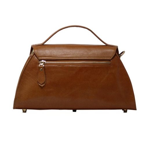 Top Handle Ladies Leather Handbag