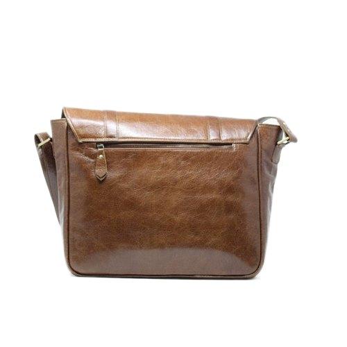 Leather Laptop Side Bag