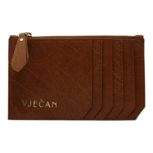 Brown Ladies Leather Wallet