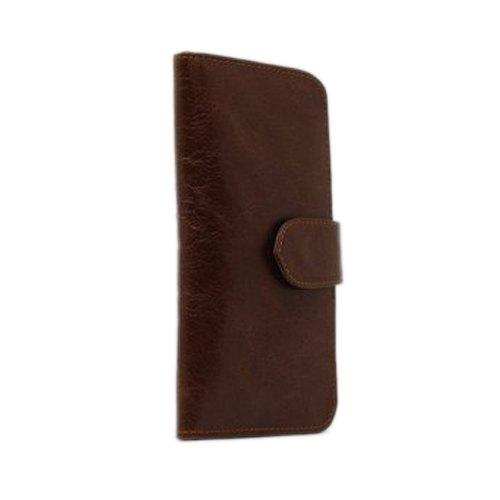 Dark Brown Ladies Leather Wallet