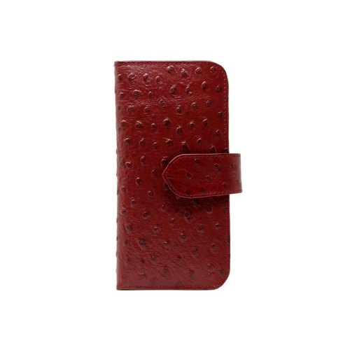 Red Ladies Leather Wallet