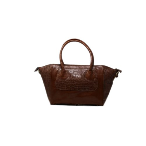 Brown Ladies Leather Shoulder Bag