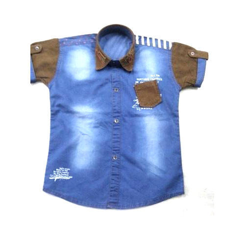 Kids Denim Shirts